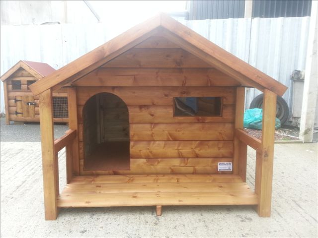 Extra Large Dog House Insulated Funky Cribs